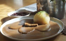 Die bt-Leser haben abgestimmt: Den besten Fränkischen Sauerbraten gibt es im Landgasthof Opel in Glashütten. Foto: Raphael Weiß