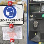 """Die Corona-Ampel steht auf """"dunkelrot"""" in Bayreuth. Foto: Raphael Weiß"""