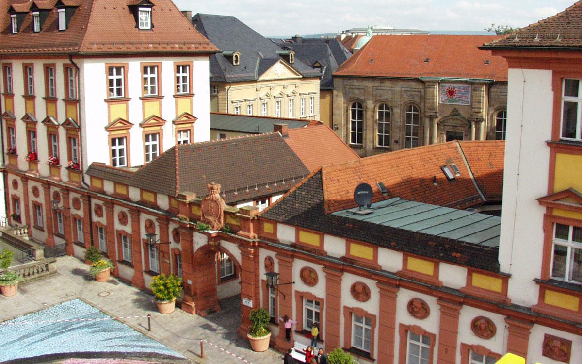 Das Alte Schloss in Bayreuth. Foto: Stephan Müller