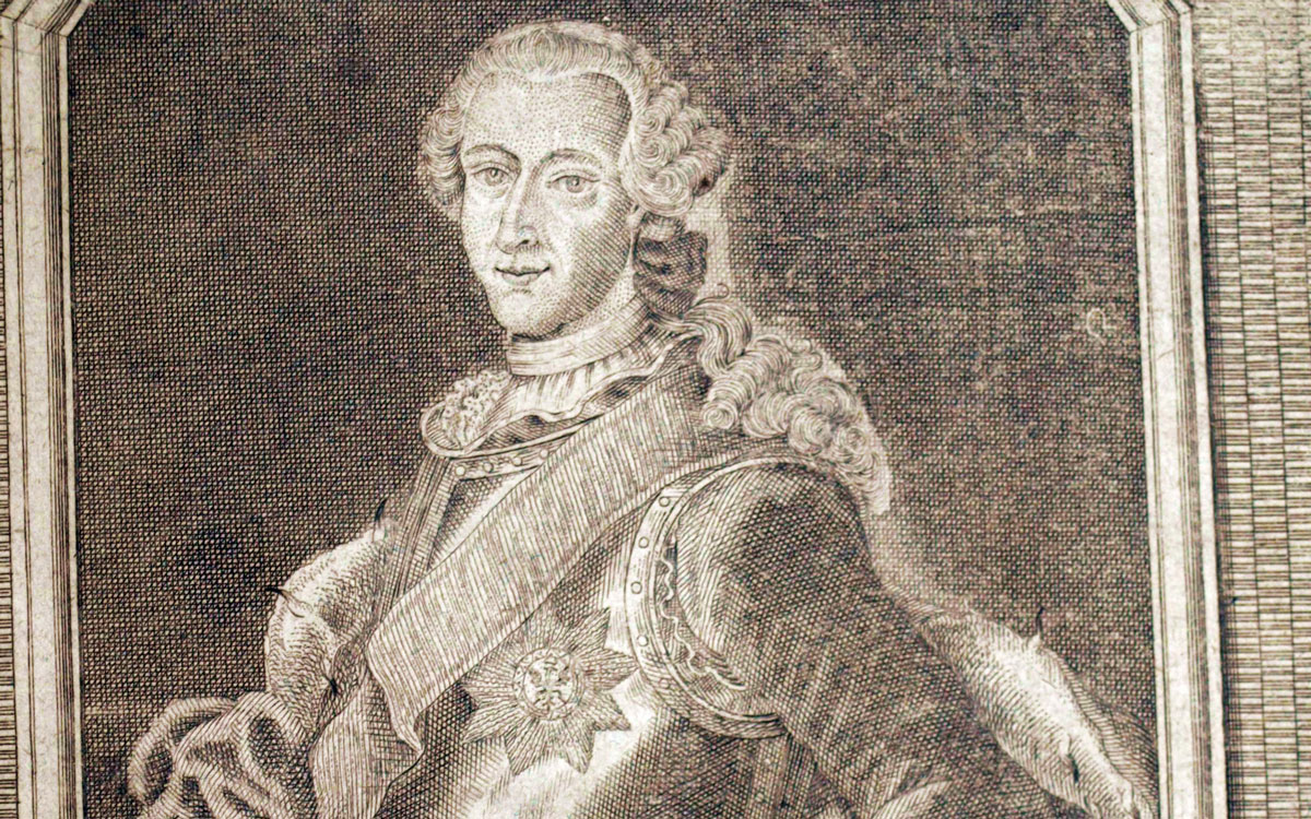 Markgraf Friedrich Christian von Bayreuth. Repro: Stephan Müller