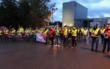 Um die 100 Mitarbeiter des Milchhofs Bayreuth haben am Mittwoch (7.10.2020) gestreikt. Foto: NGN