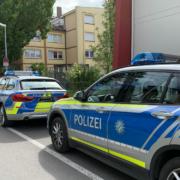 Fahrzeuge der Polizei. Foto: Katharina Adler