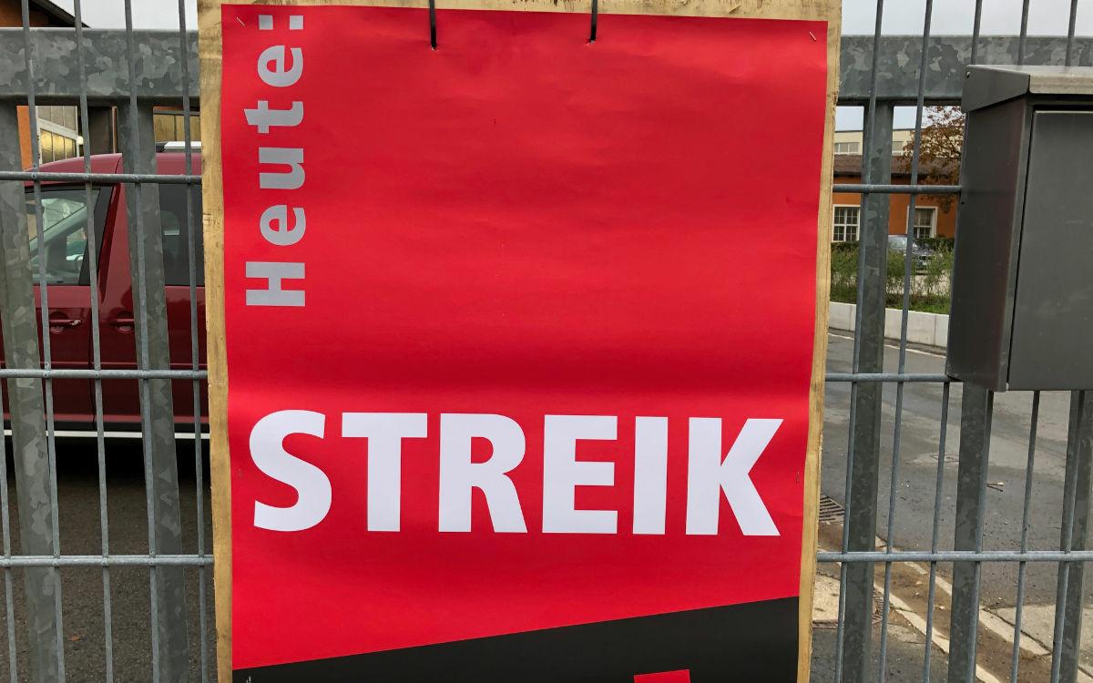 Am Freitag (25.6.2021) streikt der Media Markt in Bayreuth. Symbolfoto: Katharina Adler (Archiv)