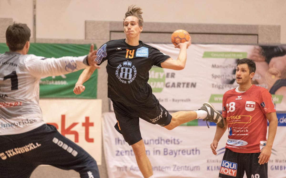 Beim Erfolg von HaSpo Bayreuth gegen Blaustein hat Paul Saborowski zehn Tore erzielt. Foto: Torsten Böhner
