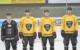 Fünf Neue bei den Tigers. Von links: Timo Walther, Julius Karrer, Maximilian Kislinger, David Trinkberger. Es fehlt: Vincent Hessler. Foto: Bayreuth Tigers