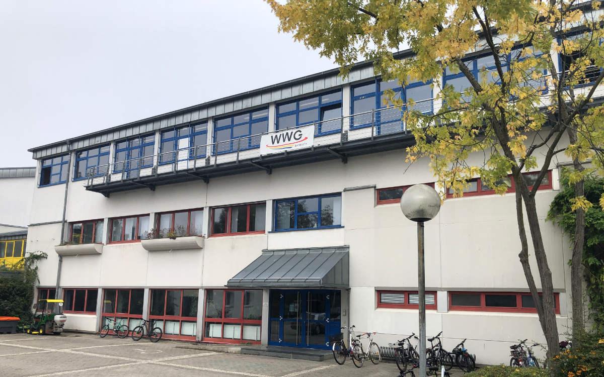 Am WWG in Bayreuth gab es einen Corona-Fall. So wurde danach gehandelt. Foto: Christoph Wiedemann
