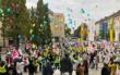 Der öffentliche Dienst hat am 19.10.2020 auch in Bayreuth gestreikt. Die Beschäftigten fordern höhere Löhne. Foto: Katharina Adler