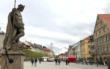 Die Innenstadt in Bayreuth: Geschäfte leiden unter dem Lockdown wegen des Coronavirus. Symbolfoto: Redaktion