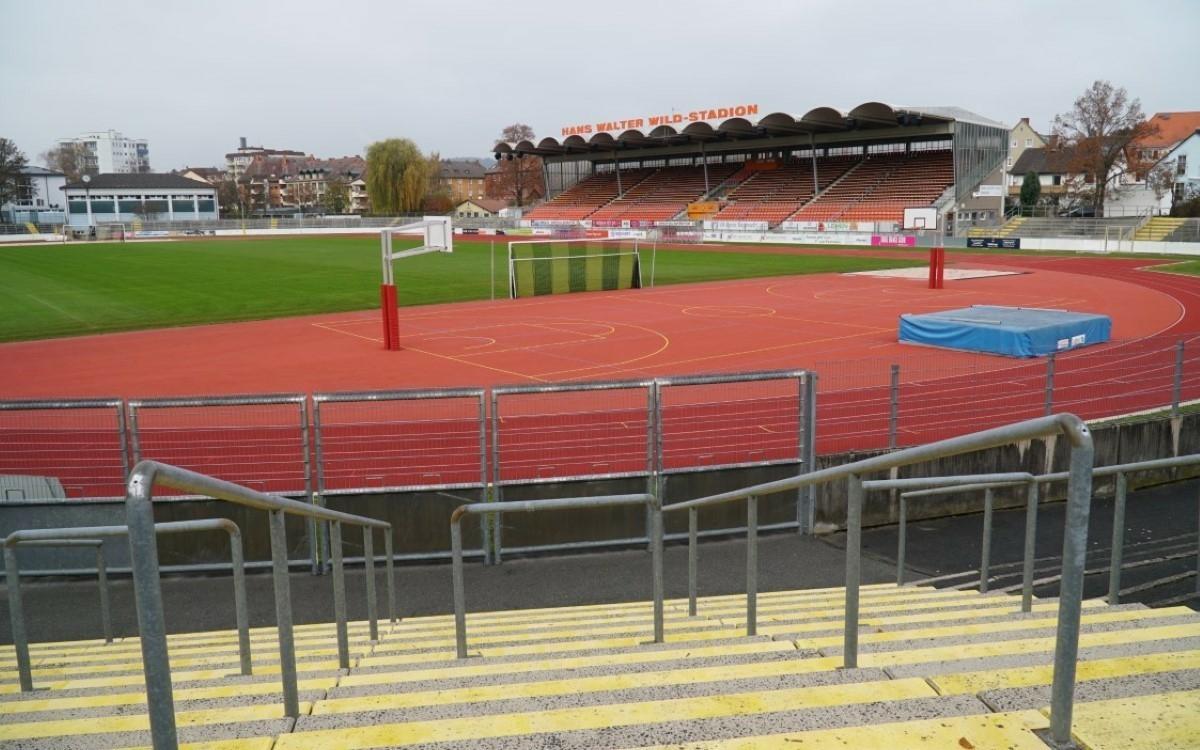 Auf seiner Sitzung am Mittwoch (24.3.2021) hat sich der Bayreuther mit der umstrittenen Sanierung des Hans Walter Wild Stadions beschäftigt. Foto: Raphael Weiß