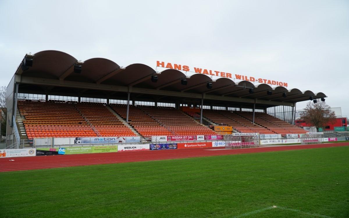 Hans-Walter-Wild-Stadion in Bayreuth. Archivfoto: Raphael Weiß