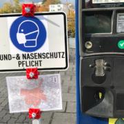 In Forchheim wurde die Maskenpflicht in der Öffentlichkeit von einem Gericht teilweise gekippt. Zwei Bürger hatten geklagt. Symbolfoto: Raphael Weiß