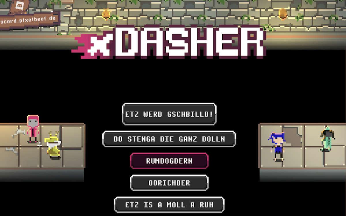 Bayreuther Studenten haben das PC-Spiel xDasher entwickelt. Foto: Pixel Beef Games