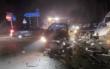 Gegenverkehr übersehen: Zwei Frauen aus Oberfranken verletzt - Trümmerfeld an Autobahnauffahrt. Foto: Polizeiinspektion Hof