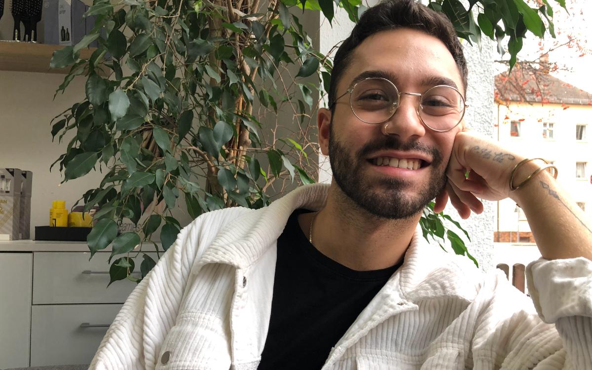 """Andrea Lamanna (24) aus Bayreuth sucht in der Dating-Show """"Prince Charming"""" (VOX, TVnow) die Liebe seines Lebens. Foto: Raphael Weiß"""