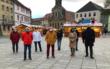 Am Montag (16.11.2020) wurde der Weihnachtsmarkt light in der Fußgängerzone in Bayreuth eröffnet. Foto: Raphael Weiß