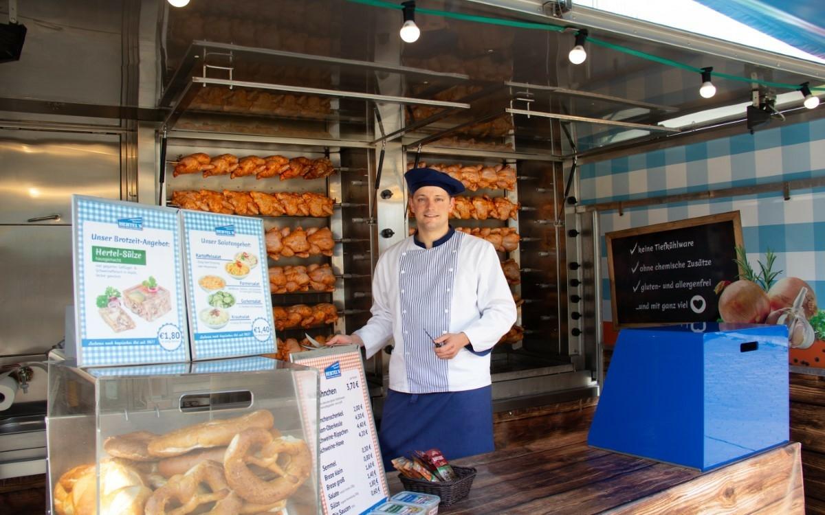 Die bt-Leser haben abgestimmt: Das beste Hähnchen im Landkreis Bayreuth gibt es gleich an mehreren Standorten. Foto: Hertel