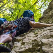 Bei Buttenheim im Kreis Bamberg ist ein Mann beim Klettern schwer gestürzt. Nun mussten mehrere Routen gesperrt werden. Symbolfoto: pixabay