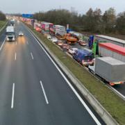 Aufgrund eines Pannenfahrzeugs staut es sich aktuell bis Bayreuth Nord. Foto: Redaktion