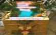 Das Weihnachtspostamt in Pottenstein ist auch in diesem Jahr vorhanden: Hier können Briefe für das Christkind eingeworfen werden. Foto: Tourismusbüro Pottenstein