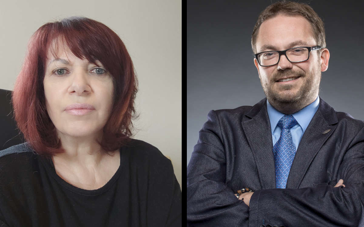 AGUS-Gruppenleiterin Elfriede Loser und AGUS-Geschäftsführer Jörg Schmidt. Fotos: privat