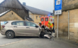 Auto kracht in Gesees in Hauswand. Foto: News5/Holzheimer