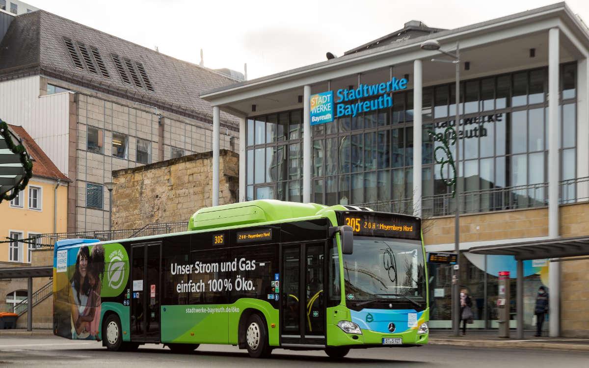 FFP2-Maskenpflicht in Bussen in Bayreuth: Das ist ab Montag zu beachten. Archivfoto: Stadtwerke Bayreuth