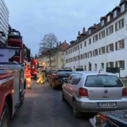 Küchenbrand in Bayreuth am 16.12.2020. Foto: NEWS5 / Holzheimer