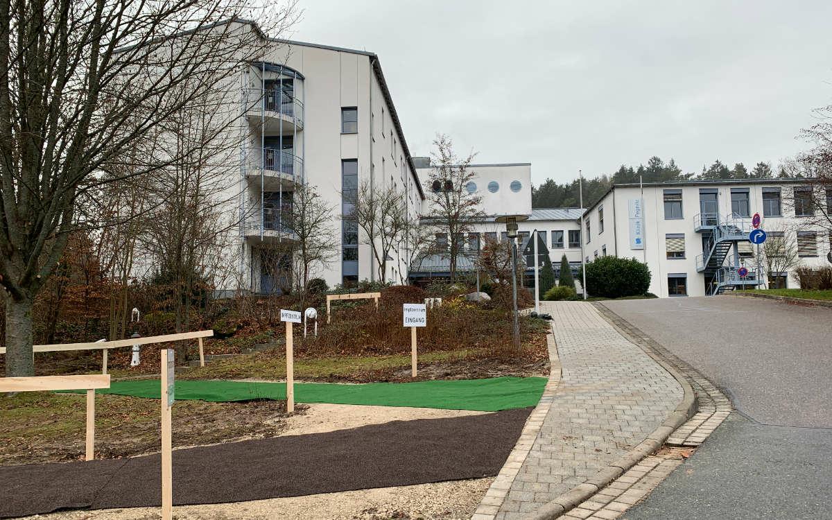 Das Impfzentrum in Pegnitz. Foto: Katharina Adler