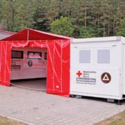 Pflegepersonal am Corona-Limit: Ehrenamtliche des BRK Kreisverbands Bayreuth helfen an Weihnachten. Foto: BRK Kreisverband Bayreuth