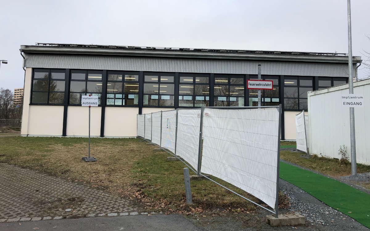 Das Impfzentrum an der Johannes-Kepler-Realschule in Bayreuth schließt demnächst. Archivfoto: Katharina Adler