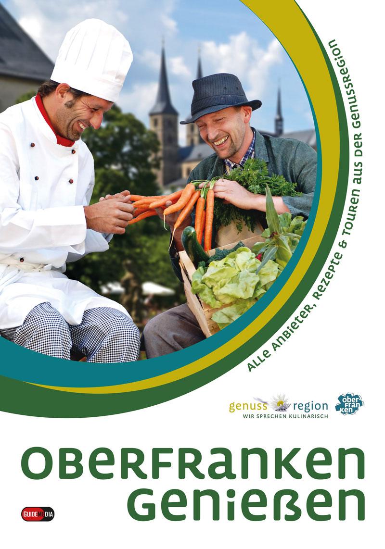 Cover Genussatlas. Foto: Genussregion Oberfranken