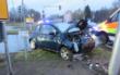 Ein Mann hat beim Abbiegen an der Kreuzung in Wirsberg den Gegenverkehr übersehen. Foto: Polizei Stadtsteinach