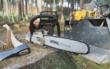 Einbrecher haben in Bindlach unter anderem eine Motorsäge gestohlen. Symbolfoto: Pixabay
