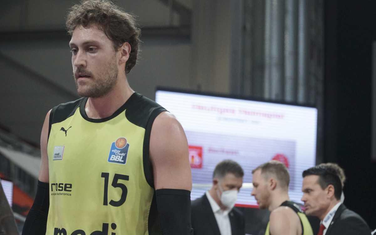 Matthew Tiby von medi bayreuth. Gegen Brose Bamberg gab es für die Heroes of Tomorrow eine Niederlage. Archivfoto: Frederik Eichstädt