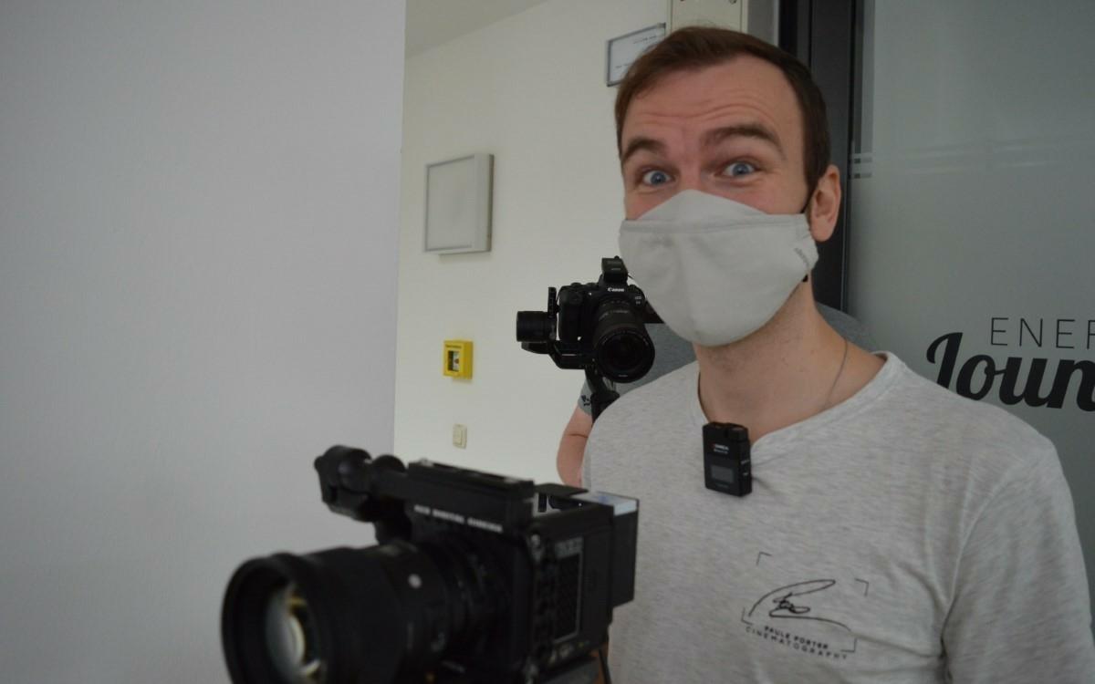 Die bt-Berufeserie: Cinematographer Paule Porter aus Bayreuth. Foto: Raphael Weiß