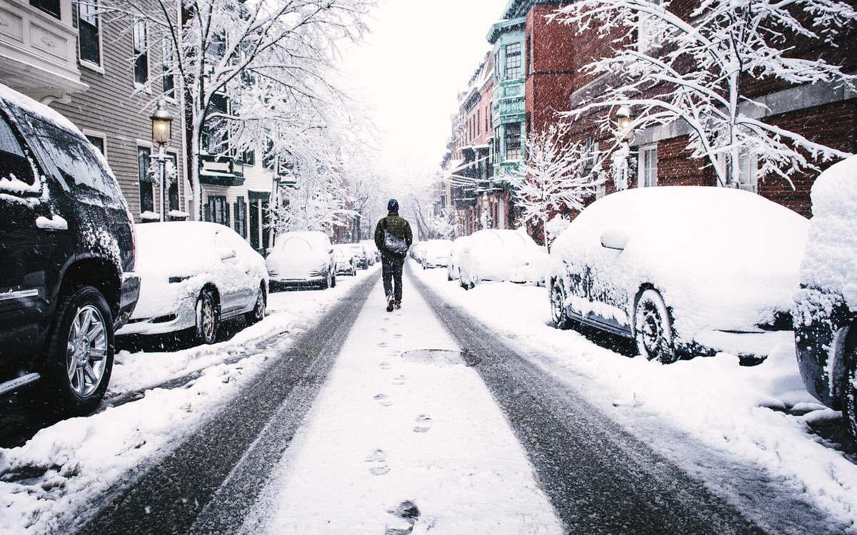 In ganz Bayreuth soll es schneien. Bis zu 15. Zentimeter werden erwartet. Symbolfoto: pixabay