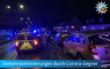 Corona-Gegner blockierten mit bemalten Autos die A73. Foto: Polizei Mittelfranken