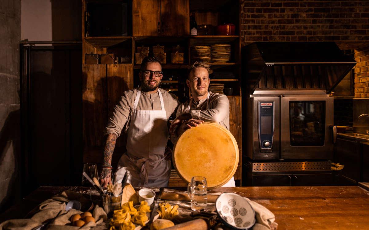 Das Küchen-Team der Pastabox. Foto: Pastabox by eila
