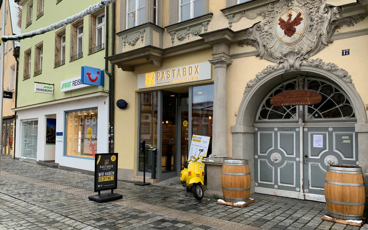 Neu in Bayreuth: Die Pastabox. Foto: Katharina Adler