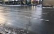 Dieser Riss zieht sich über die Straße am Hohenzollernring in Bayreuth. Was hat es damit auf sich? Foto: Privat