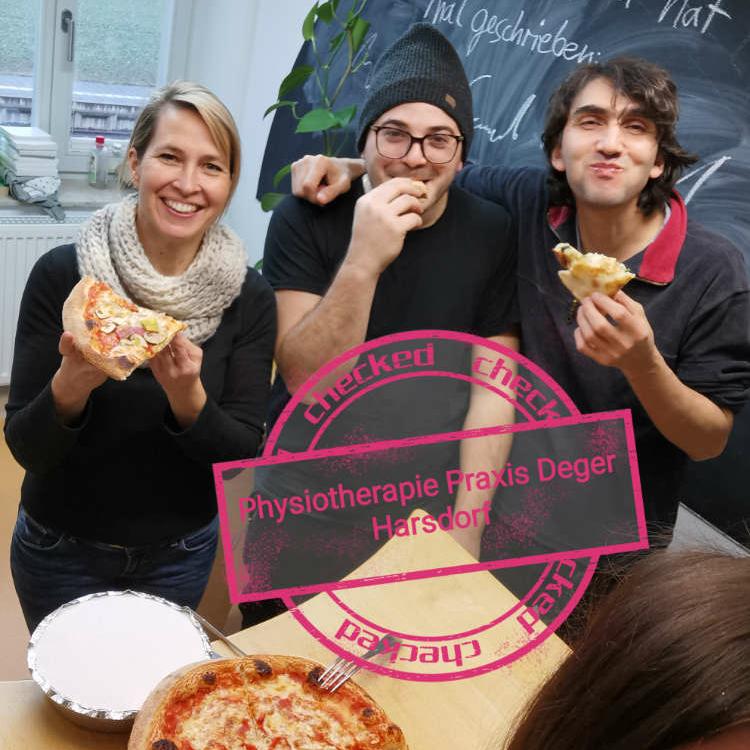 Die Bindlacher Pizzeria San Marino spendete in den vergangenen Wochen Essen an die Corona-Helden im Raum Bayreuth. Foto: Privat