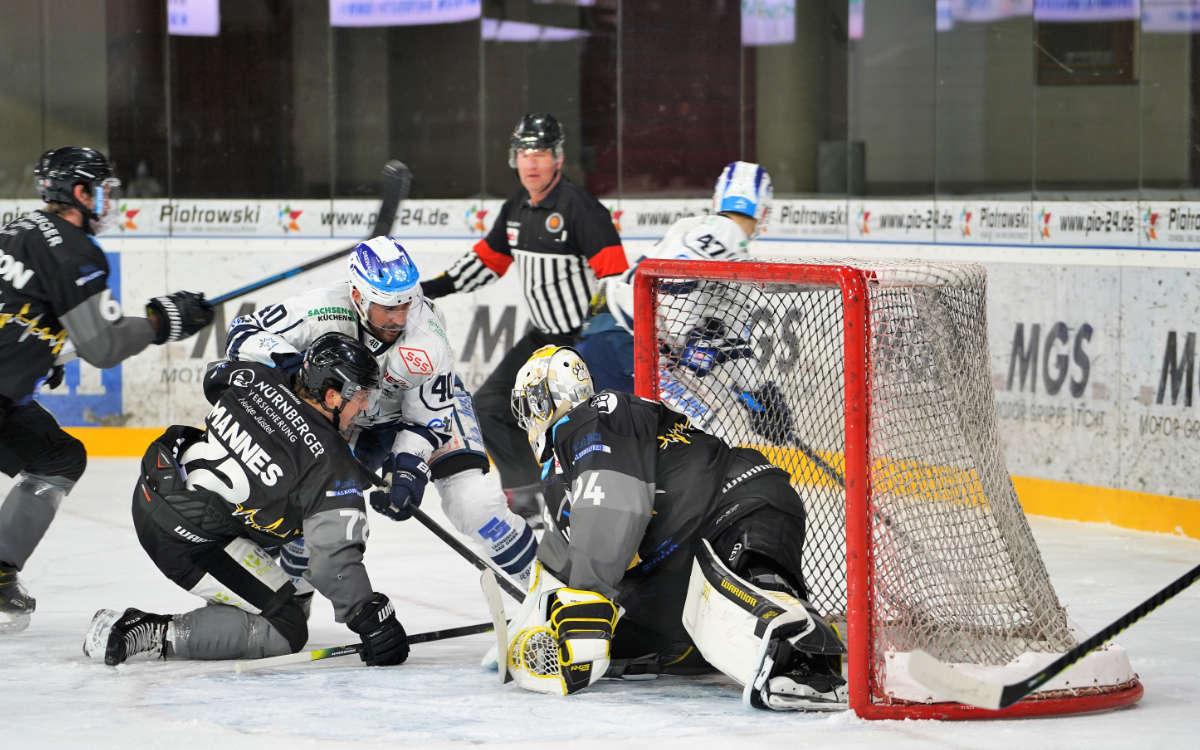 Auswärts gegen den EV-Landshut mussten die Bayreuth Tigers deutlich sieglos vom Eis gehen: Archivfoto: Karo Vögel