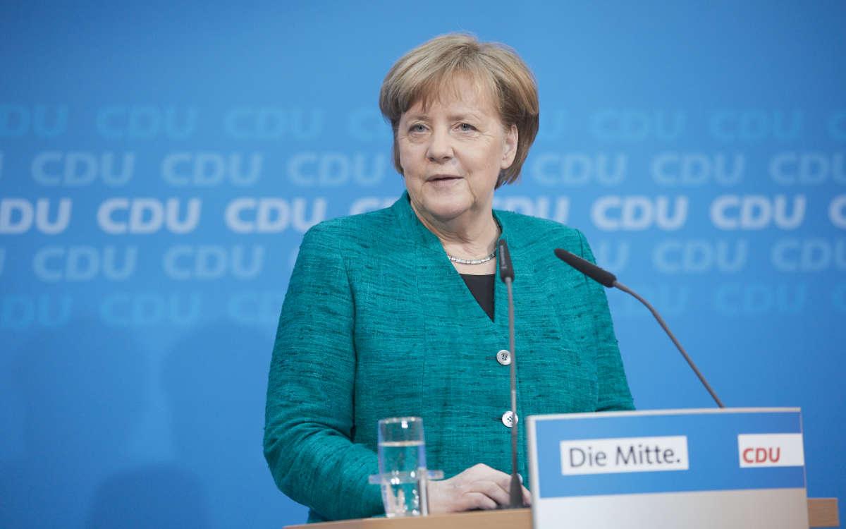 Merkels Notbremse gilt ab Samstag, den 24. April 2021. Symbolfoto: CDU/Laurence Chaperon