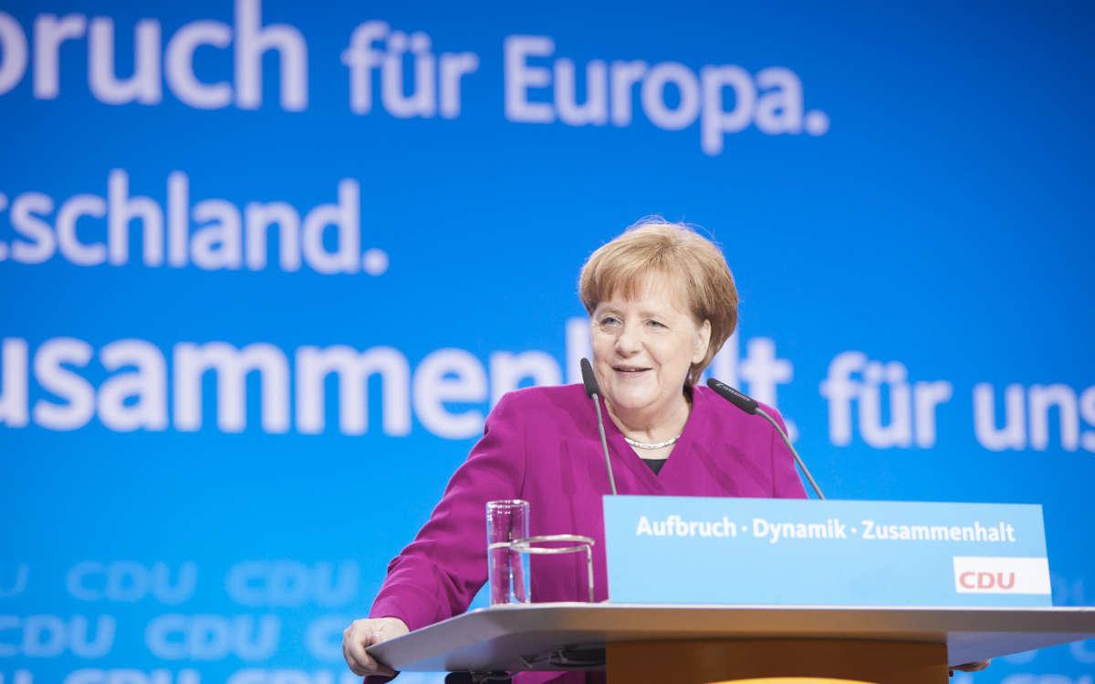 Bundeskanzlerin Angela Merkel äußert sich am Mittwoch (3.3.2021) zum Lockdown in Deutschland: Wird die Maßnahme verlängert und die Kontaktbeschränkungen gelockert? Archivfoto: CDU/Laurence Chaperon