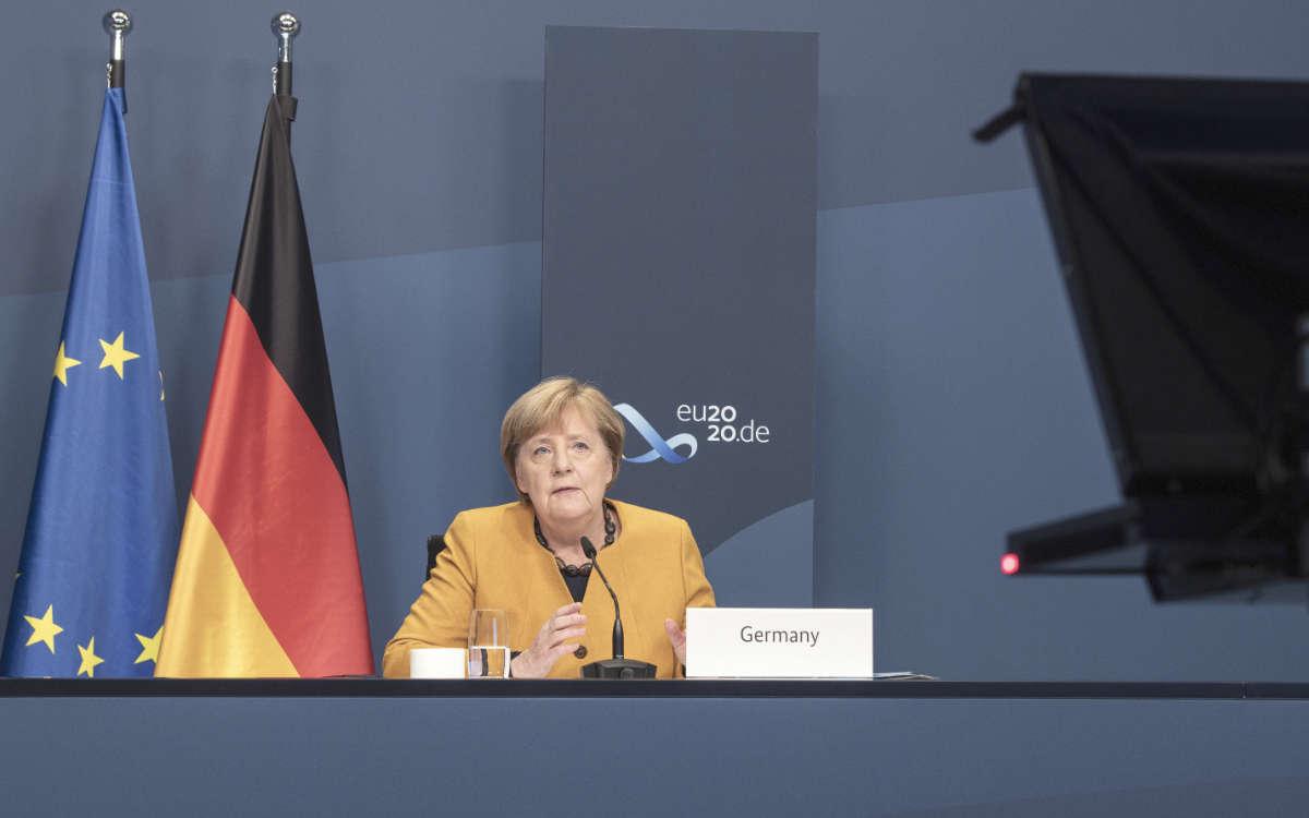 Angela Merkel will auf die dritte Corona-Welle Reagieren: Jetzt hat das Bundeskabinett eine Änderung des Infektionsschutzgesetzes besprochen. Archivfoto: Bundesregierung / Guido Bergmann