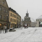 In Bayreuth soll es wieder schneien. Archivfoto: Katharina Adler