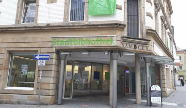 Die Stadtbibliothek im RW21 in Bayreuth. Archivfoto: Redaktion