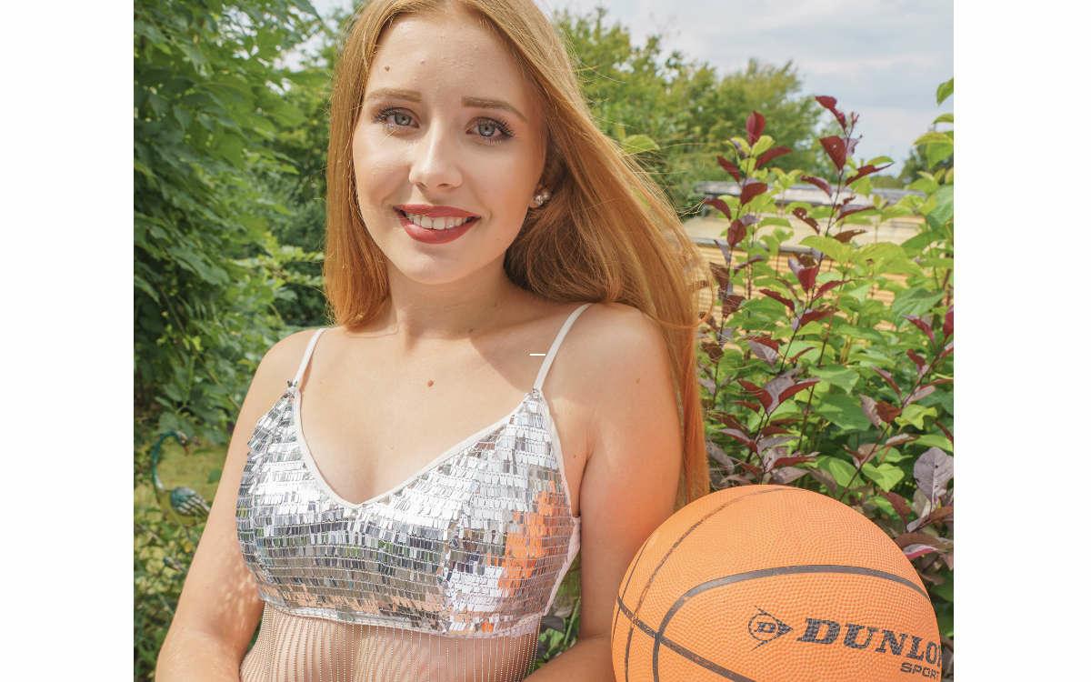 Alisa Wald von den Cheerdancers Diamonds. Foto: Günter Grünbauer