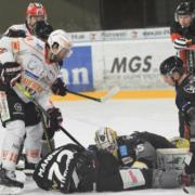Die Bayreuth Tigers spielen gegen die Löwen Frankfurt und die Lausitzer Füchse. Archivfoto: Karo Vögel
