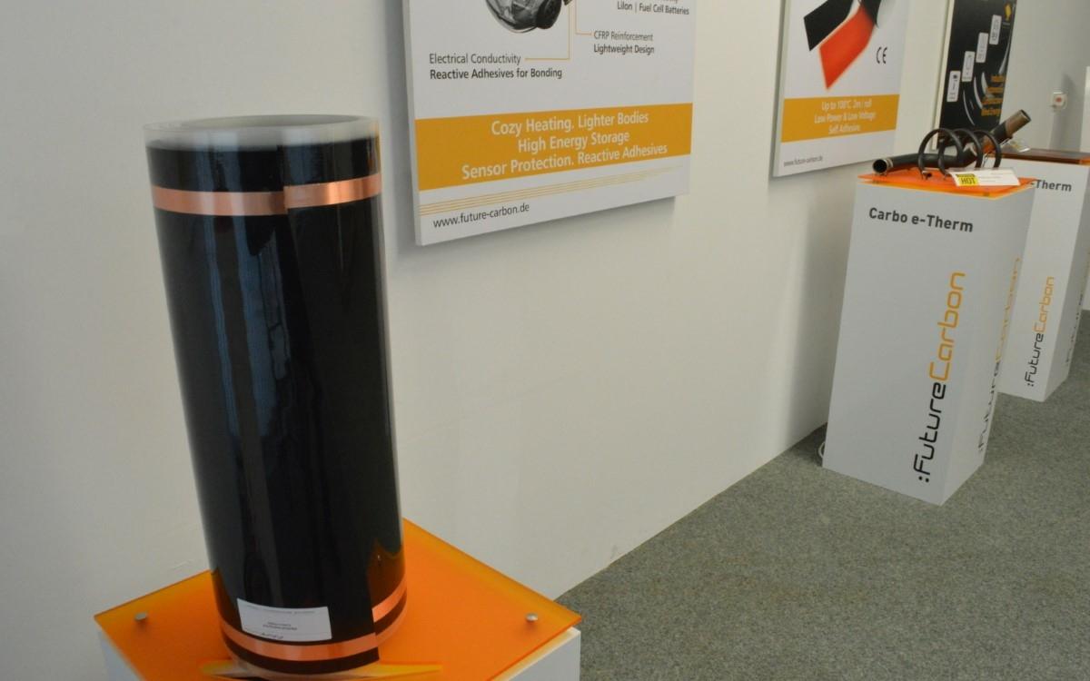 Future Carbon aus Bayreuth hat ein innovatives Heizsystem entwickelt. Foto: Raphael Weiß